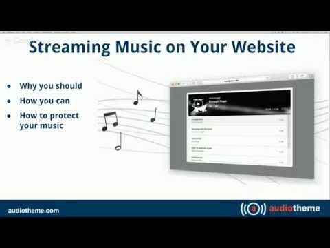 AudioTheme Webinar: How To Stream Music On Your Website