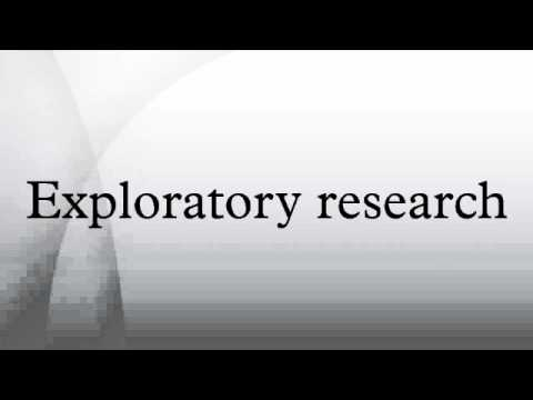 explain exploratory research Definition of exploratory research: investigation into a problem or situation which provides insights to the researcher.