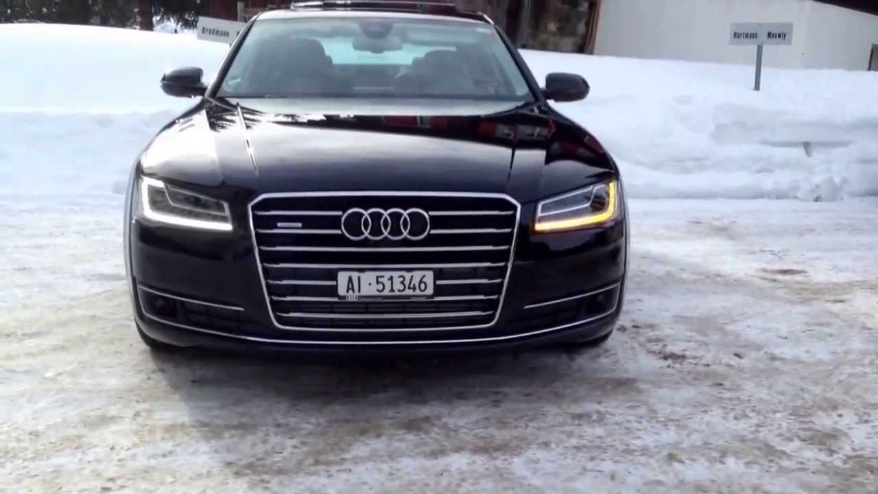 audi a8 facelift led matrix blinker youtube. Black Bedroom Furniture Sets. Home Design Ideas