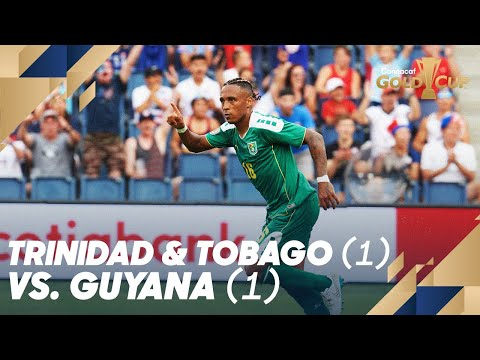 Trinidad and Tobago (1) vs. Guyana (1) - Gold Cup 2019