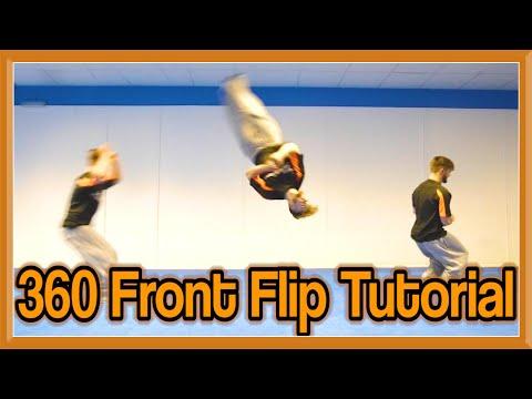 360 Front Flip Tutorial (Front Full) | Fraser Malik How to