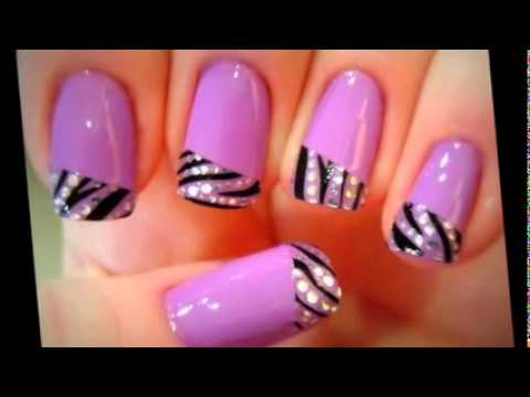 Nail Art And Design Latest 2014 Images Youtube