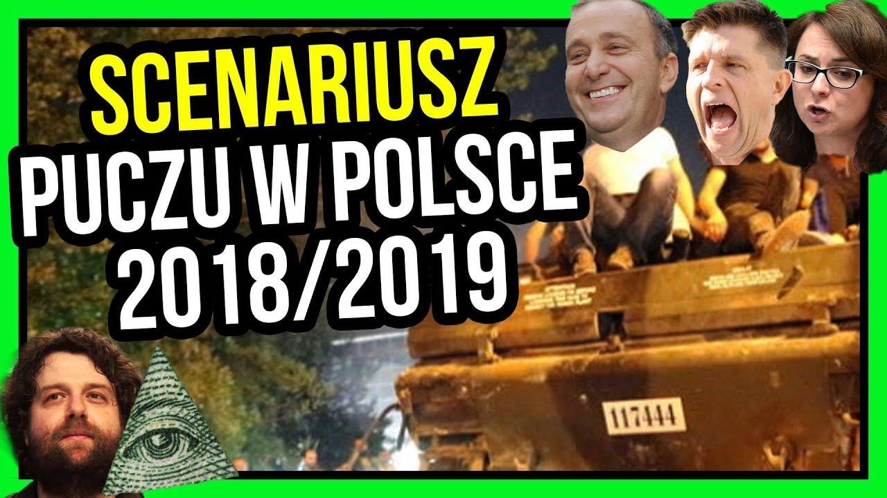 Wyciekł Scenariusz Puczu w Polsce na 2018 / 2019 – Powody, Przebieg, Plany