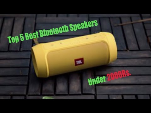 Top 5 Best Bluetooth Speakers Under 2000 Rs In India Youtube