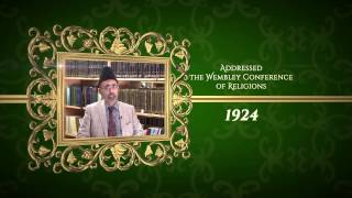 Achievements of Hazrat Musleh Ma'ood: 1924 The Wembley Conference of Religions