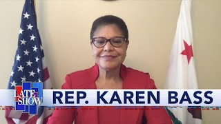 Rep. Karen Bass: We Must Ban Chokeholds And Create A National Database Of Problematic Officers