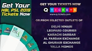 Get Your HBL PSL 2019 Tickets Now