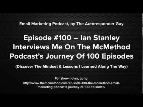 Ian Stanley Interviews Me On The McMethod Podcast's Journey Of 100 Episodes