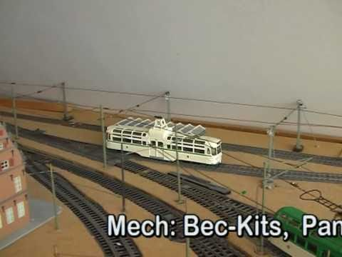 Blackpool Coronation tram model in scale 00