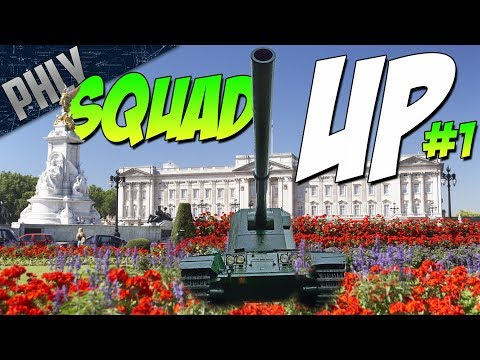 SQUAD UP #1 - Ft. Mighty Jingles, Devildog & Fv4005 (War Thunder Gameplay)