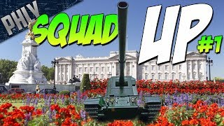 SQUAD UP #1 - Ft. Mighty Jingles, Devildog & Fv4005 (War Thund…