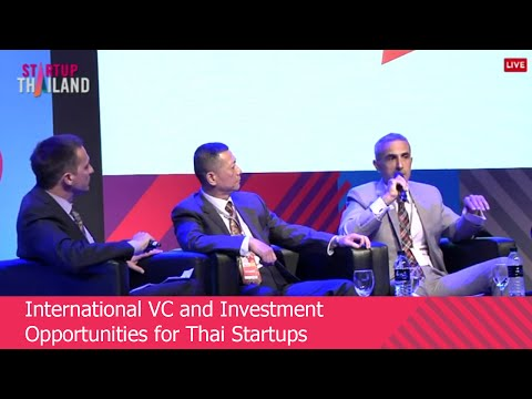 International VC and Investment Opportunities for Thai Startups