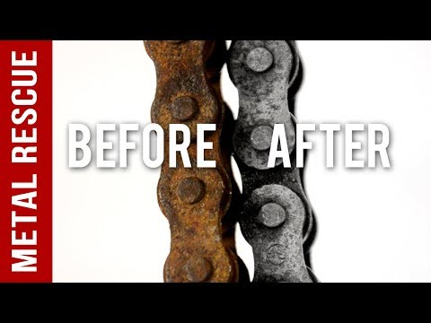 How To Remove Rust From A Motorcycle Bike Chain