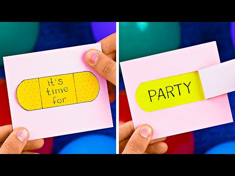 Easy And Fun Home Party Hacks || Awesome Party Hacks And DIYs |