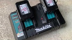 Makita Doppelladegerät DC18RD 18V Ladegerät für 2 Akkus TEST