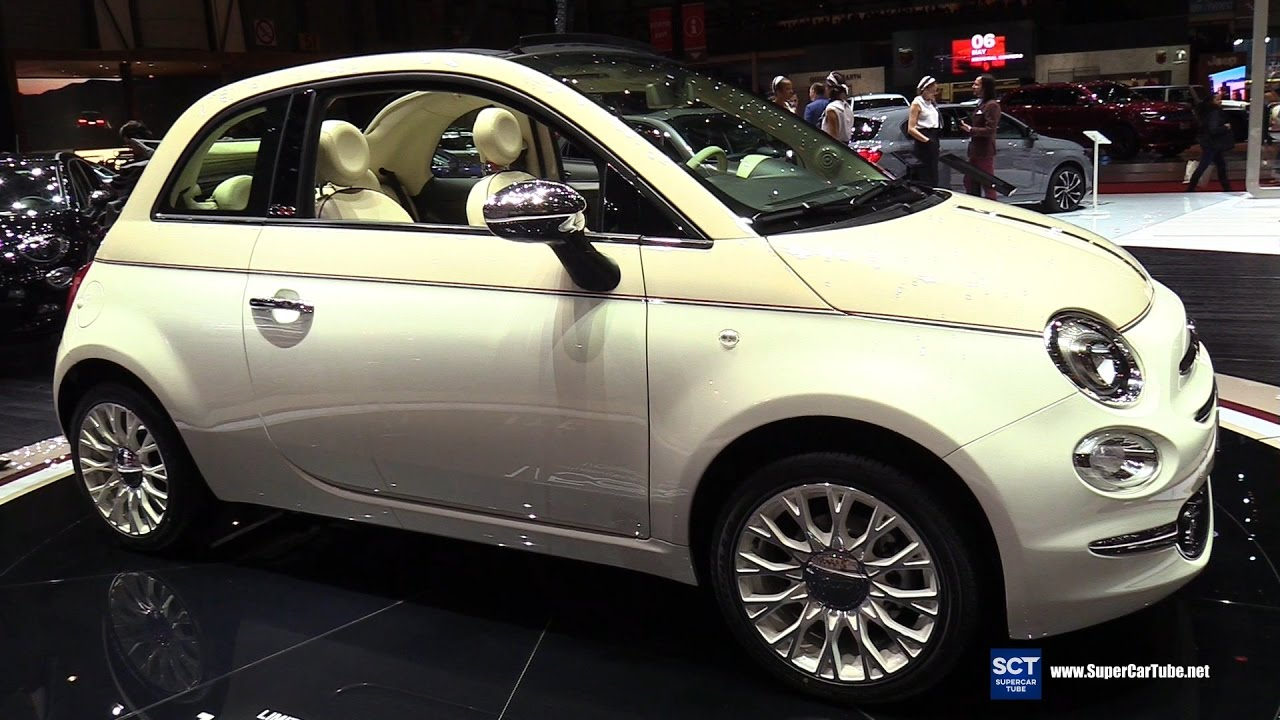 2017 fiat 500 60th anniversary limited edition exterior interior walkaround 2017 geneva motor. Black Bedroom Furniture Sets. Home Design Ideas