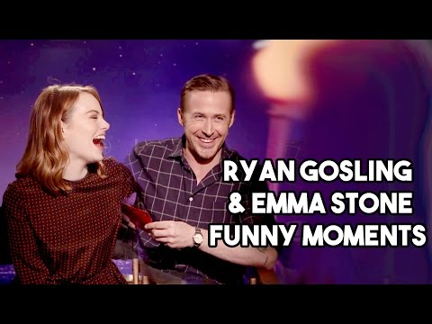 Ryan Gosling and Emma Stone Interview Funny Moments