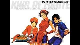 The King Of Fighters EX2:Howling Blood-(GBA)-[Athena/Kensou/Bao]-1 Crédito/Até o Final