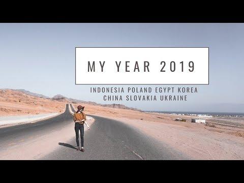 My Year 2019 (INDONESIA, KOREA, EGYPT, CHINA) - Globe in the Hat