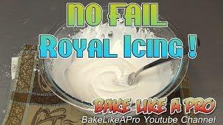 Easy Royal Icing Recipe !