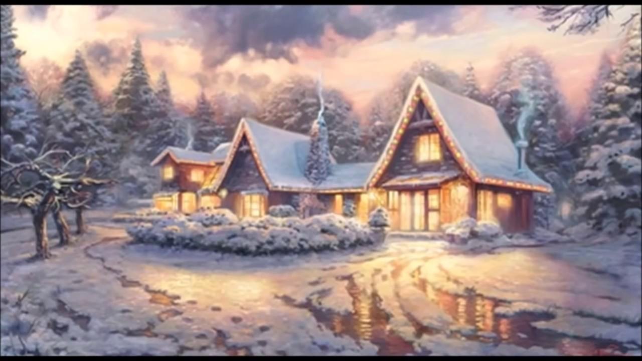 Swing Christmas Music Special with Thomas Kinkade Paintings - YouTube