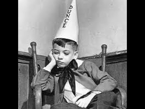 Image result for dunce hat