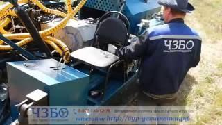Работа насоса НБ-4 на буровой установке УРБ-МИНИ