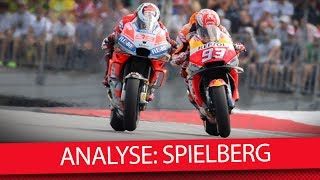 Die Spielberg-Analyse - MotoGP 2018 (Analyse)