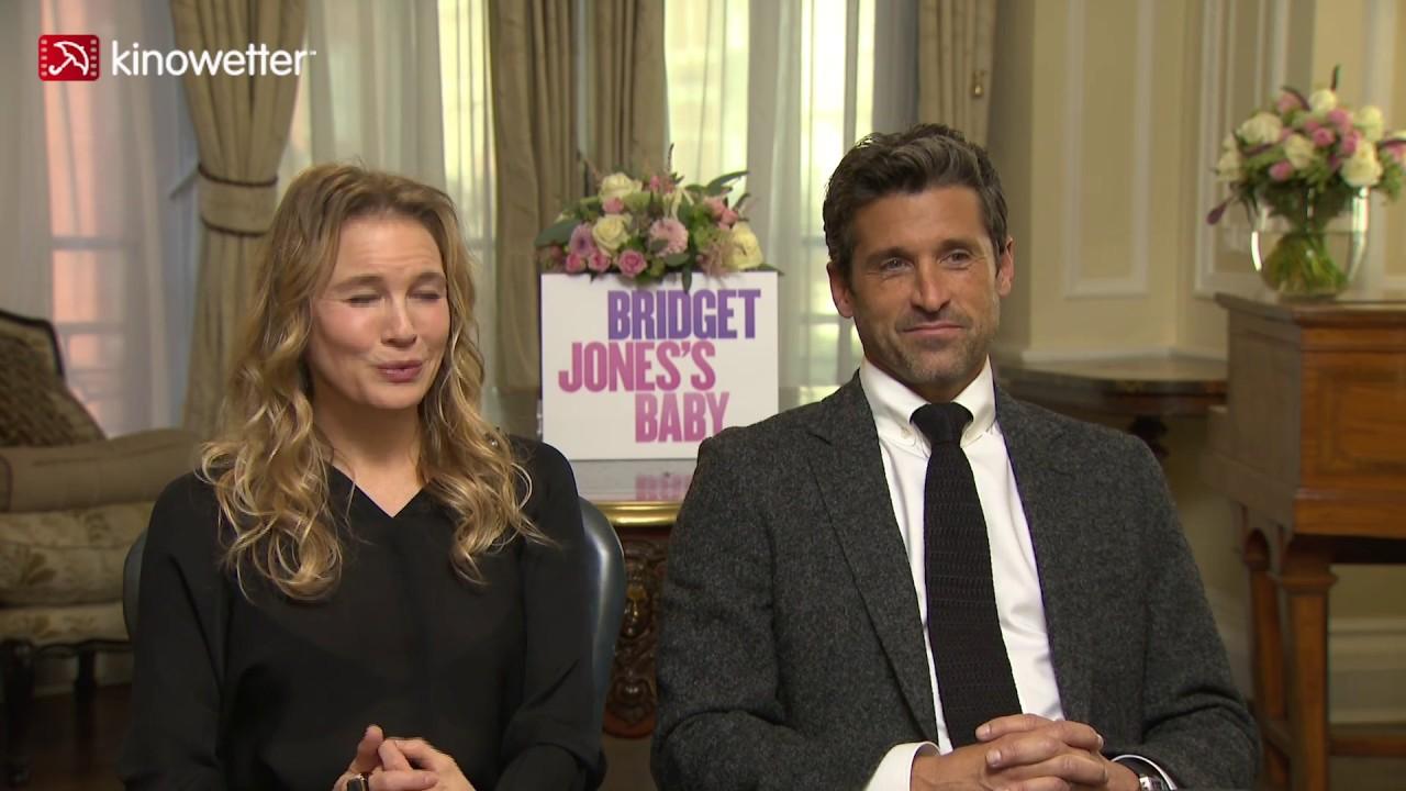 Interview Renée Zellweger Patrick Dempsey Bridget Jones Baby