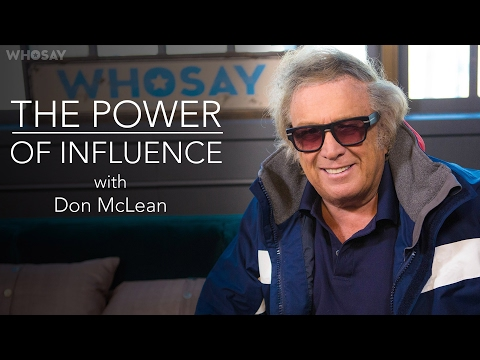 Don McLean Recalls That Time He Realized 'American Pie' Had Become an Icon | WHOSAY