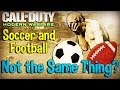 Soccer and Football are not the same thing! Funny Live Stream Moment - Modern Warfare Remastered