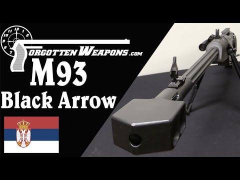 Zastava M93 Black Arrow: Serbia's .50 Cal Anti-Materiel Rifle