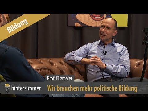 Wir brauchen mehr politische Bildung - Prof. Dr. Peter Filzmaier im Hinterzimmer | Ausschnitt