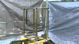 Steel Aquarium Stand 002