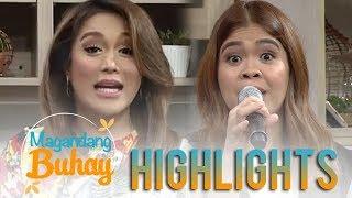 Magandang Buhay:  Melai tries to impersonate Karen Davila