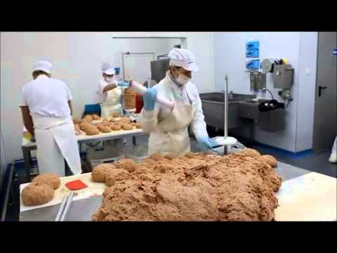 N&N Z-arm mixer MIX 500Z - Mixing of Ground Meat for Kebab