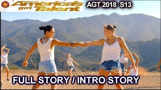 Zurcaroh  Acrobatic Group FULL INTRO STORY QuarterFinals 3  America's Got Talent 2018 AGT