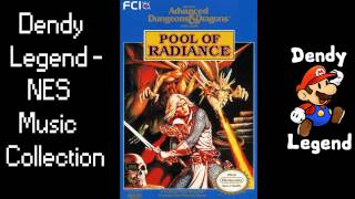 Advanced Dungeons & Dragons: Pool of Radiance - Yarash Pyramid NES Music Soundtrack [HQ]