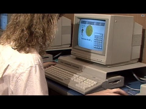 This is what a high-tech high school looked like in 1990