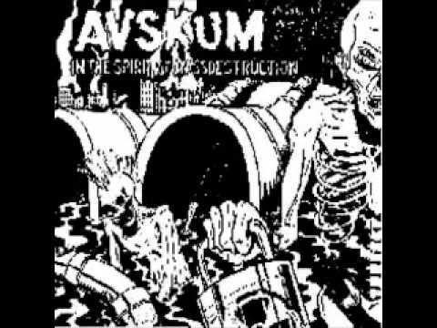 Avskum -NIn The Spirit of Mass Destruction (FULL ALBUM)