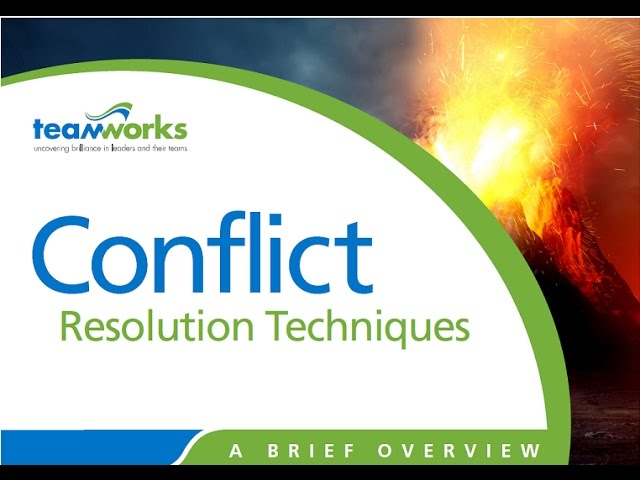 Conflict Resolution Techniques