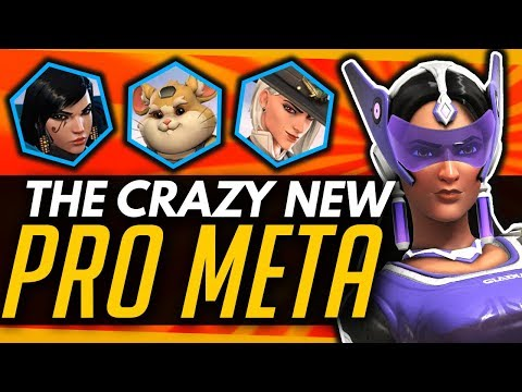 Overwatch | NEW Crazy Meta Comps - Symmetra, Quad DPS, Bastion All Used By Pros! thumbnail