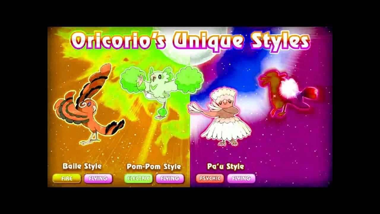 Oricorio's Unique Style_Pokémon Sun and Pokémon Moon =Micro Media ...