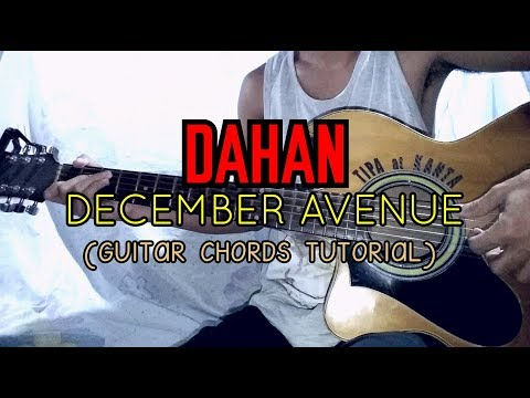 Dahan December Avenue Easy Guitar Tutorial Youtube