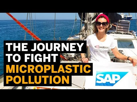 On the Galápagos leg of an ocean journey to fight microplastic pollution