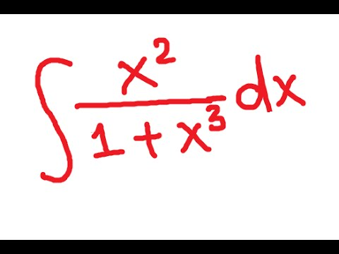u-substitution: Integration by substitution of a fraction
