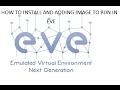 How to setup EVE   Emulated Virtual Environment
