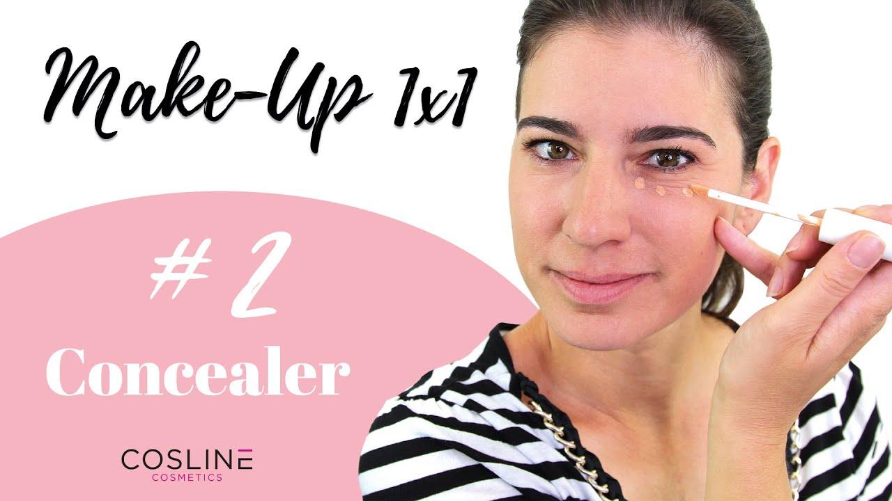 Concealer richtig auftragen – Make Up 1x1