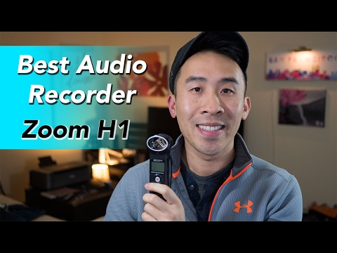 Best Audio Recorder for YouTube Videos: Zoom H1 Recorder