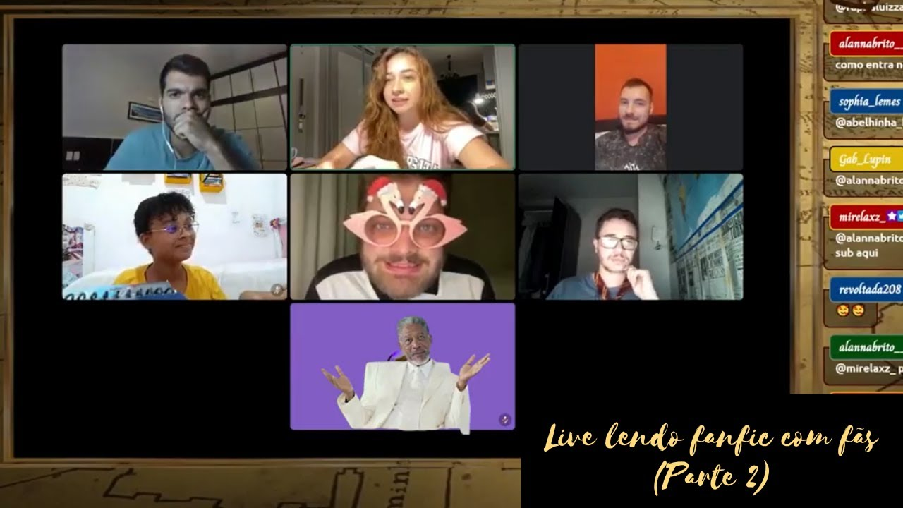 Live Lendo Fanfic com fãs (Parte 2)